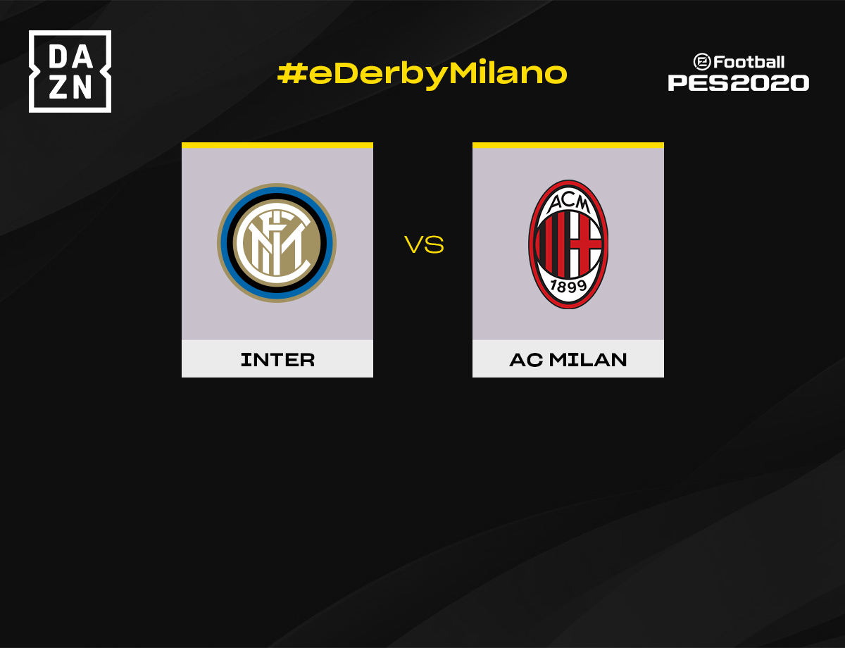 eSports, Esposito to take on Leão in first Milan eDerby at 12:30 CEST on Saturday
