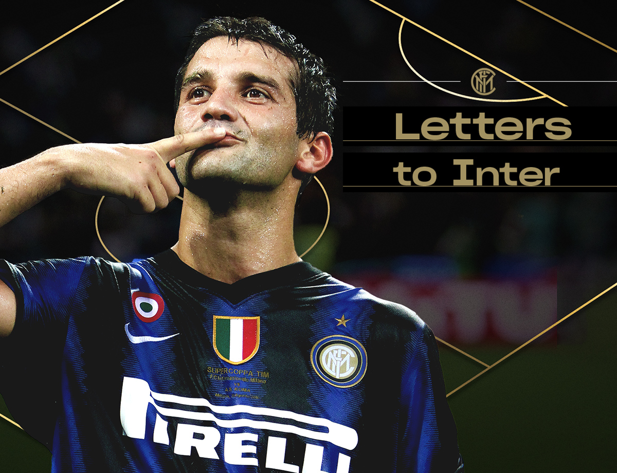 Letters to Inter - Cristian Chivu