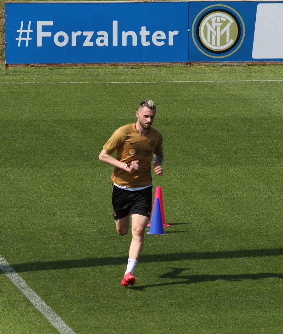 The first photos of the Nerazzurri in individual training at Appiano