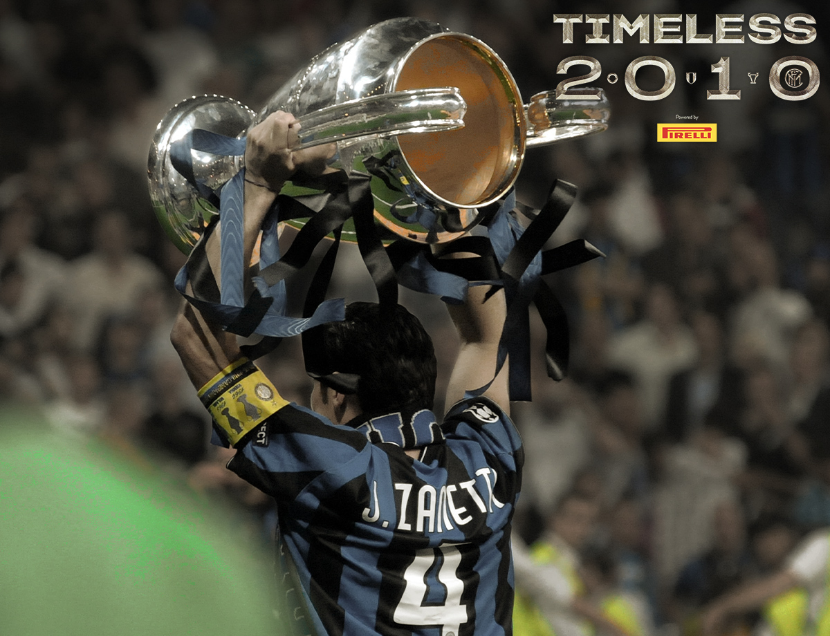 Memorabilia #Timeless2010: Zanetti's captain's armband from the Champions League Final