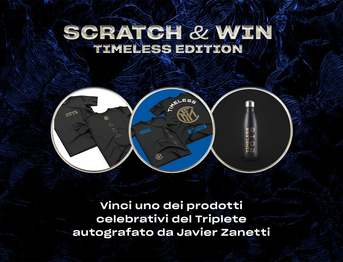 Inter Competitions, vinci la Timeless collection