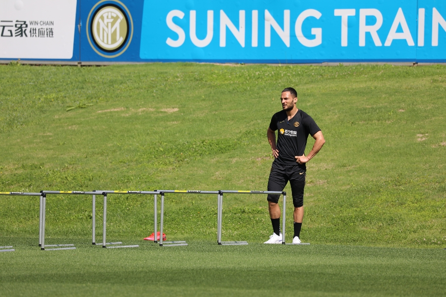 The Nerazzurri hard at work: the photos from today's morning session