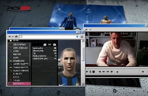 Marco Materazzi tackles the ratings of the Triplete squad on PES 2010