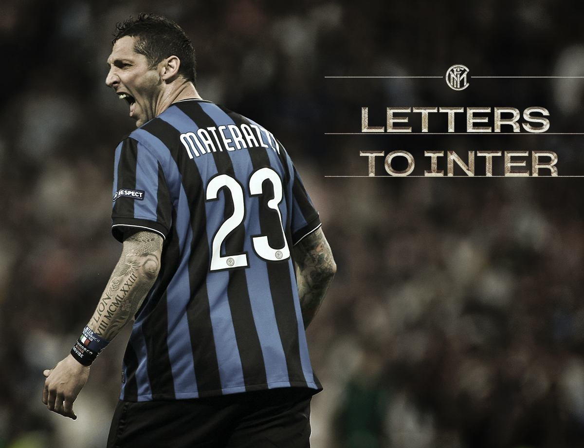 LettersToInter: Marco Materazzi, the path towards the Triplete | Inter