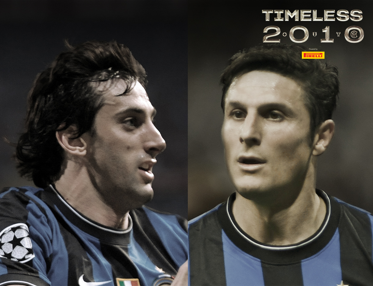 Zanetti and Milito, the conversation between two Triplete heroes