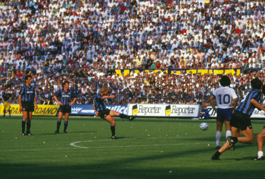 31 years ago: a record-breaking Scudetto, Inter 2-1 Napoli