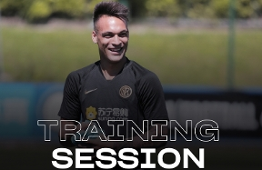 Latihan Inter di Suning Training Centre