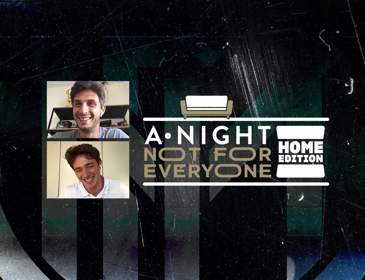 Andrea Ranocchia and Tommaso Cassissa the guests on A Night Not For Everyone