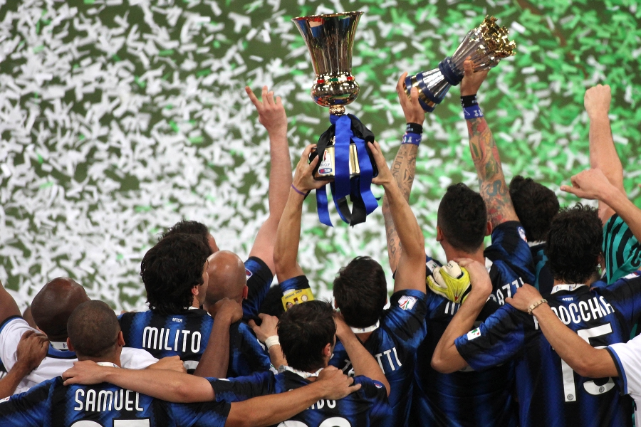 Inter 3-1 Palermo, Inter win the Coppa Italia for the seventh time