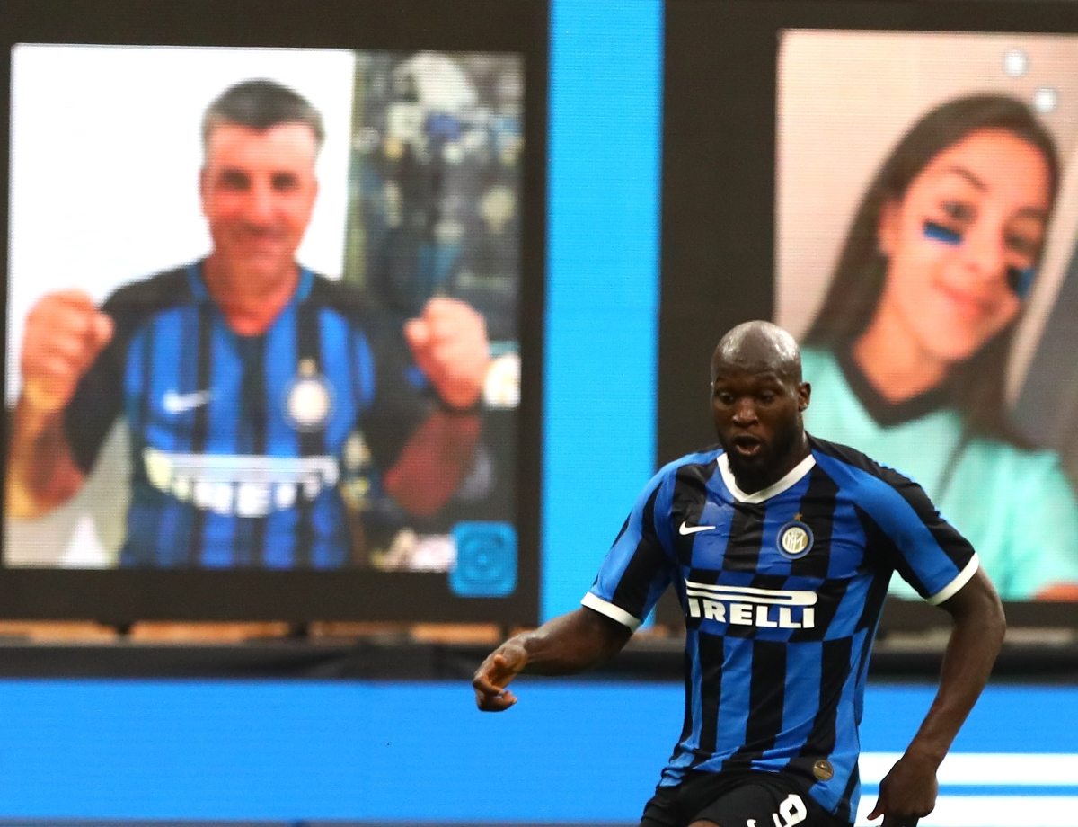 Inter vs. Fiorentina: our Together as a Team Social Wall set to return