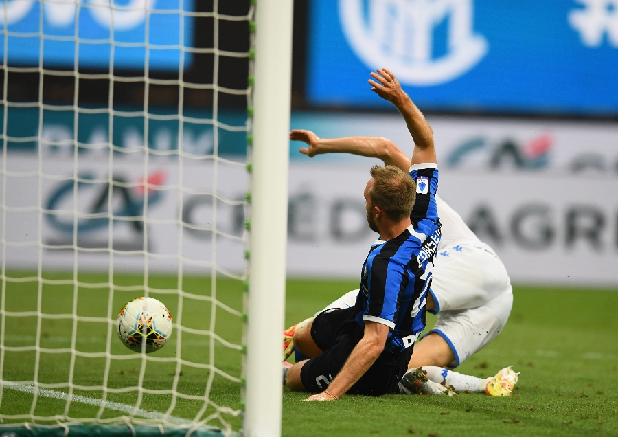 Inter stats - The last eleven Nerazzurri goals have been scored by eleven different players