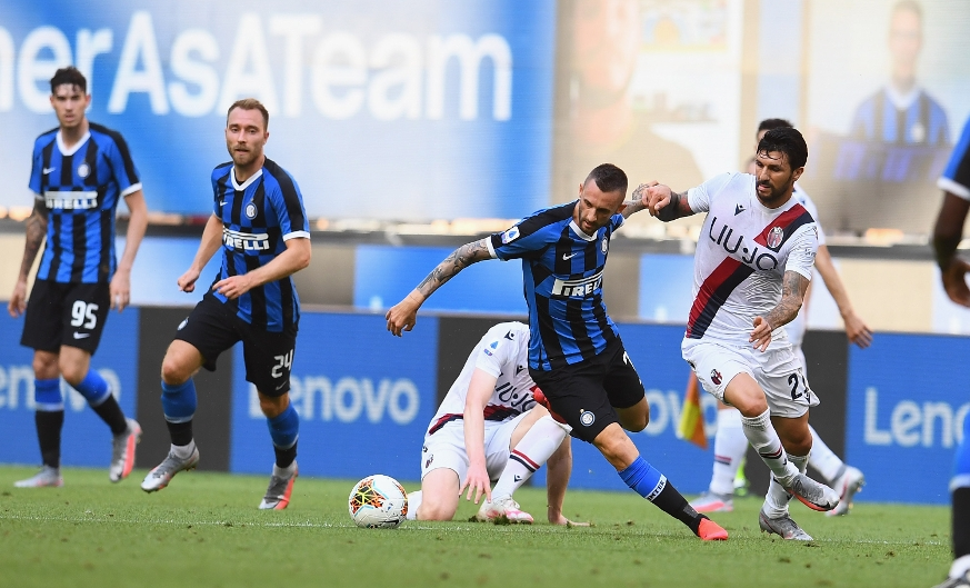 Inter suffer home defeat as Juwara and Barrow lead a Bologna fightback