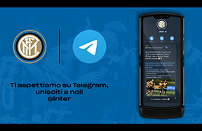 L'Inter è anche su Telegram!