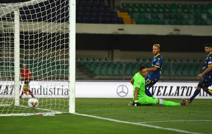 Inter 2-2 Verona, the photos from the match