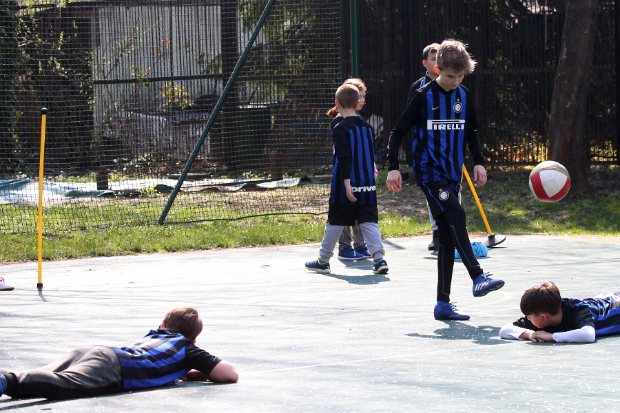 Inter Campus Poland, first steps to playing again