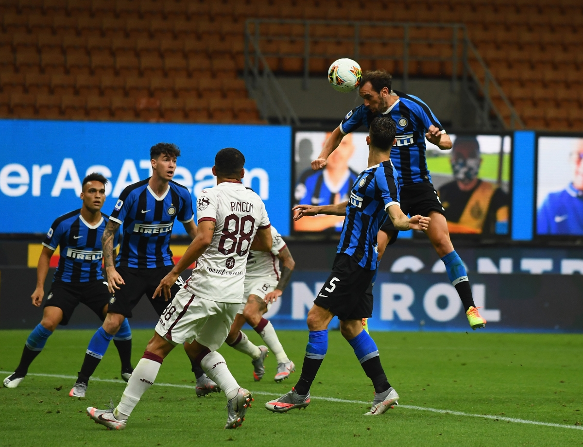 """Godin on his first goal for Inter: """"Today we were good value for our win"""""""