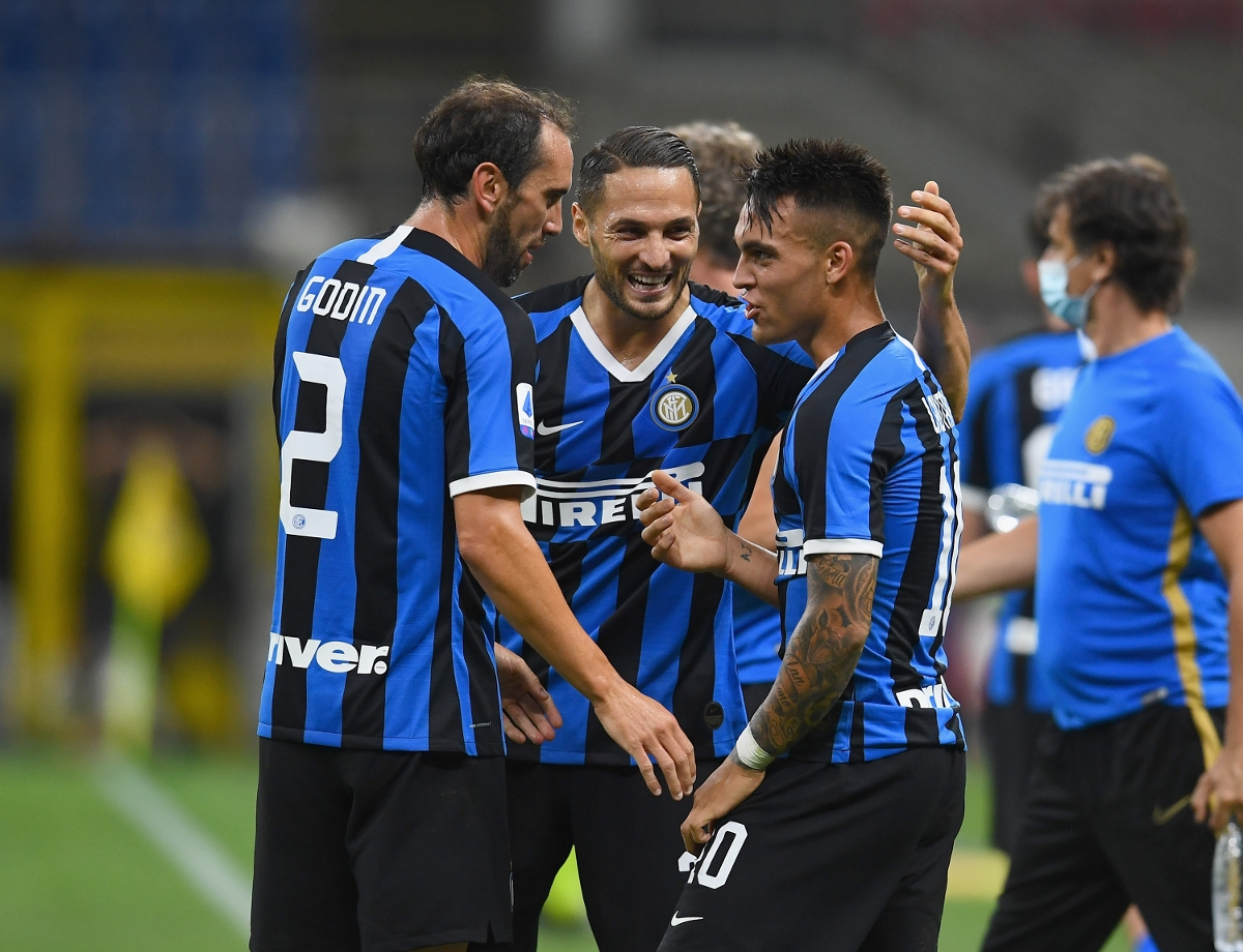 """D'Ambrosio: """"At Inter we're on top of things, and we're looking to raise our standards"""""""