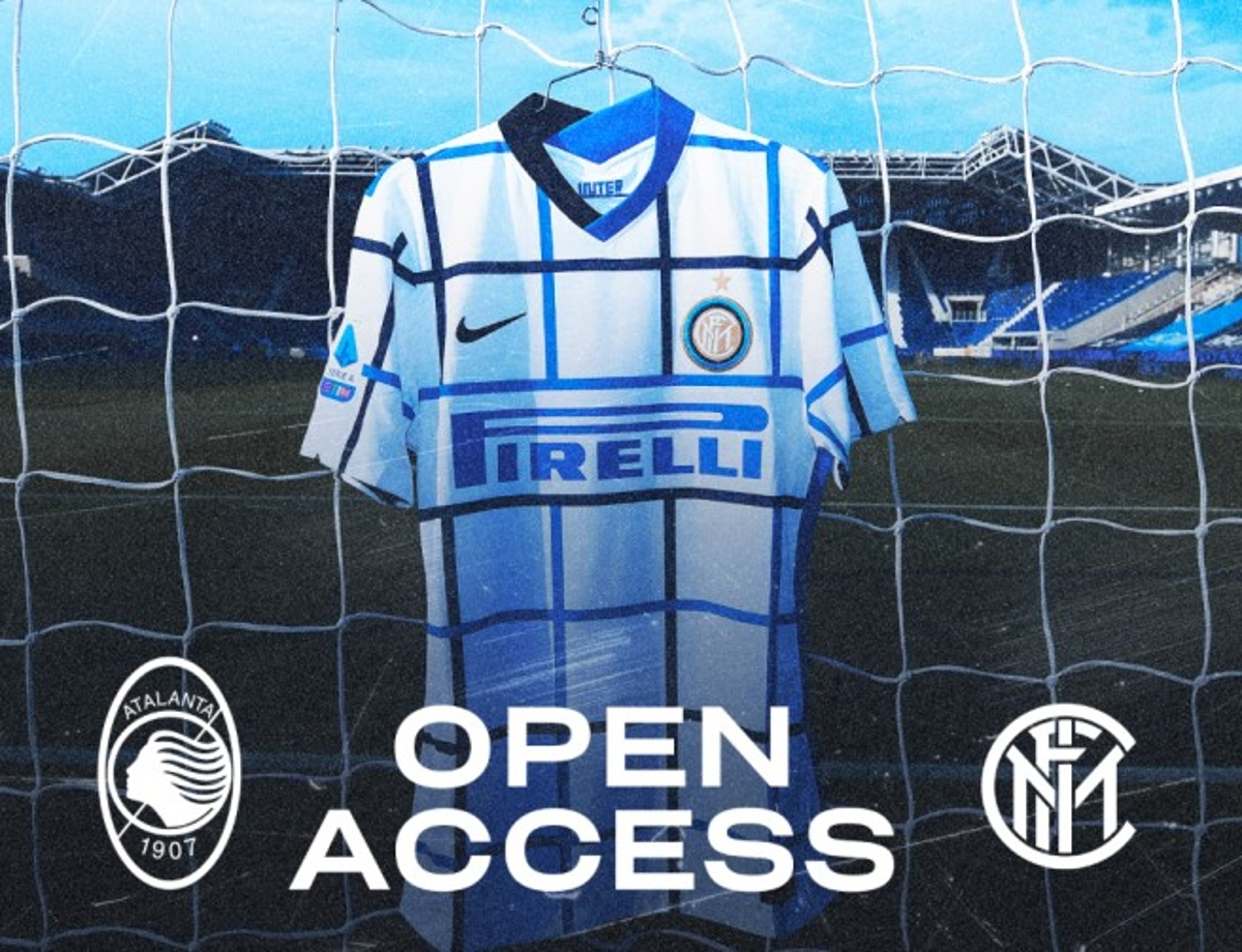OPEN ACCESS | ATALANTA VS. INTER AND OUR NEW 2020/21 AWAY KIT