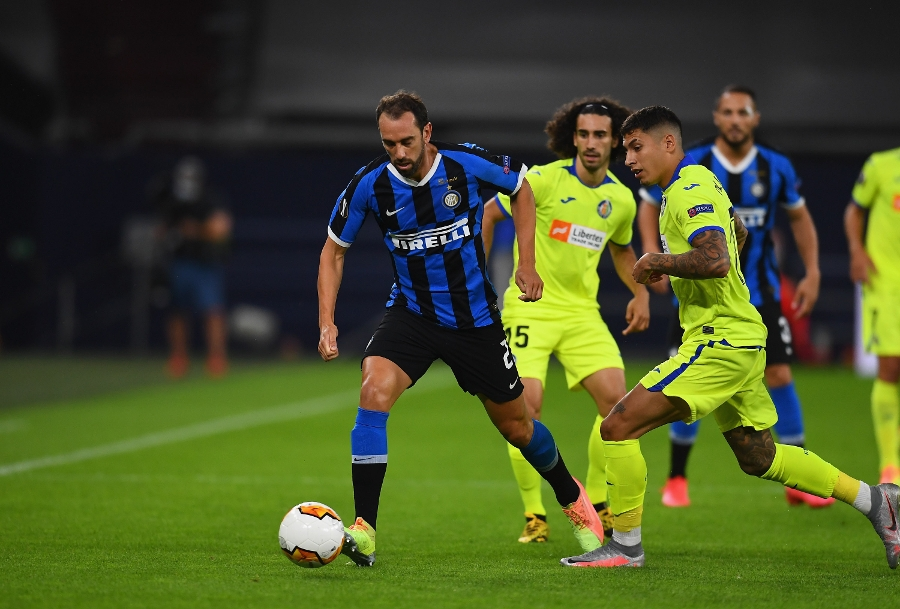 Left-footed finishes and a missed penalty: Inter vs. Getafe, the gallery