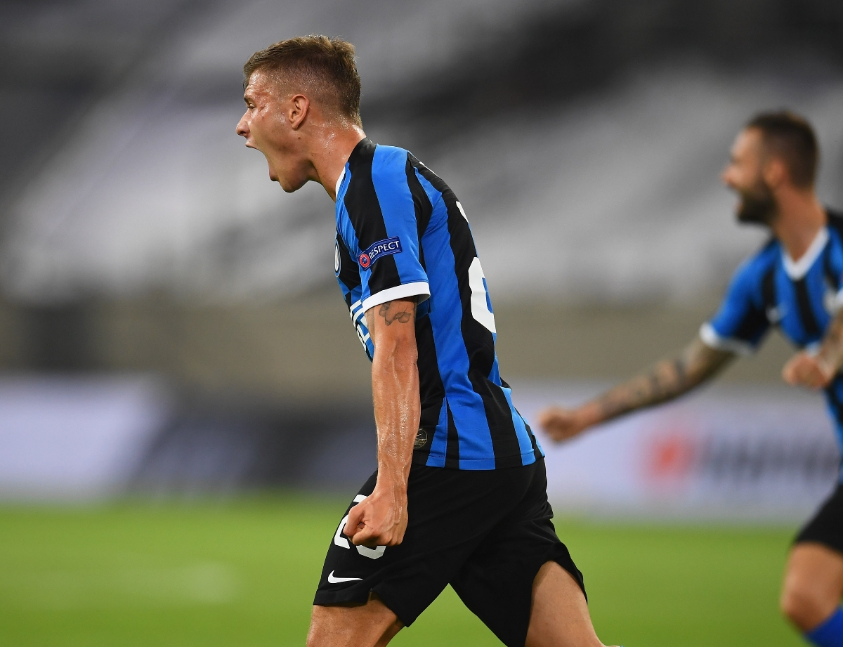 """Barella: """"A team win, this group has character"""""""