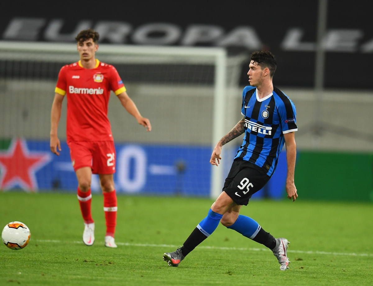 """Bastoni: """"We're aiming high, I'm proud to be here"""""""