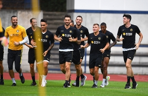 Preparations begin for Europa League semi-final showdown: the photos