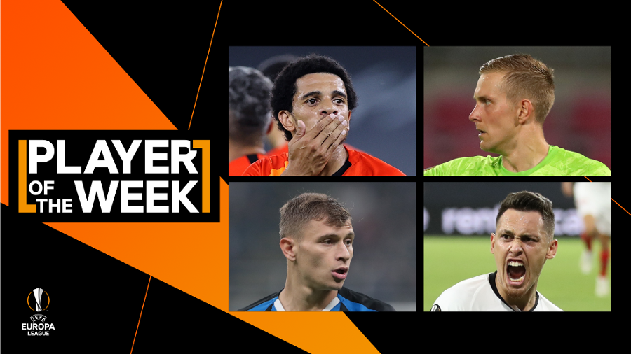 "UEL, Barella nominated for ""player of the week"""