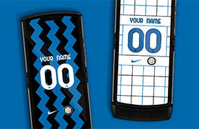 Personalise your smartphone with offical Inter wallpapers