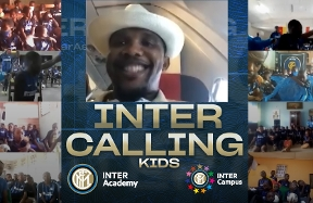Inter Calling Kids | Eto'o meets youngsters from Inter Academy and Inter Campus Cameroon