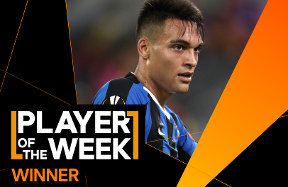 "Lautaro is the ""Player of the Week"" from the semi-finals"