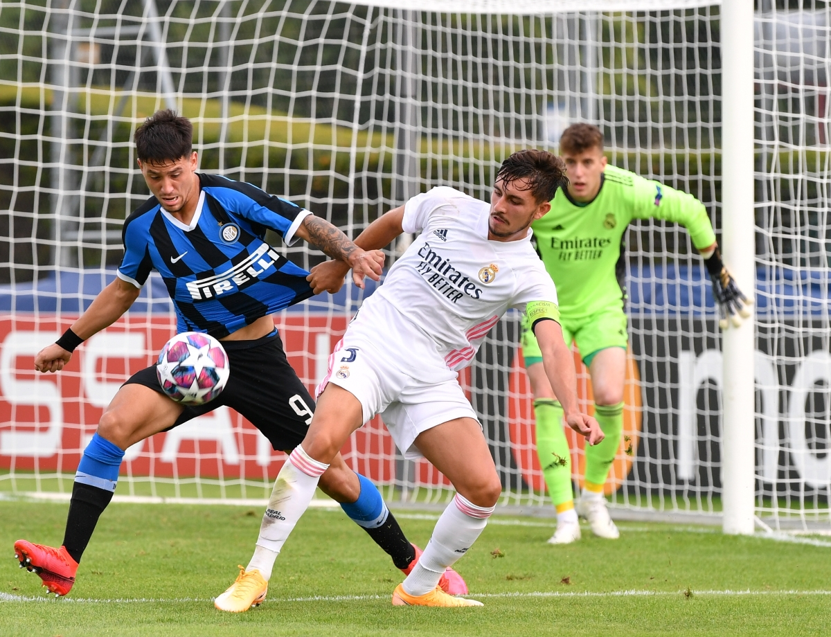 UEFA Youth League, Inter 0-3 Real Madrid