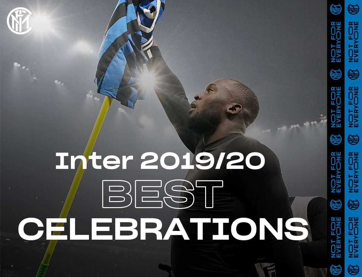 Unbridled emotion and iconic gestures: the best celebrations from the 2019/20 season | VIDEO
