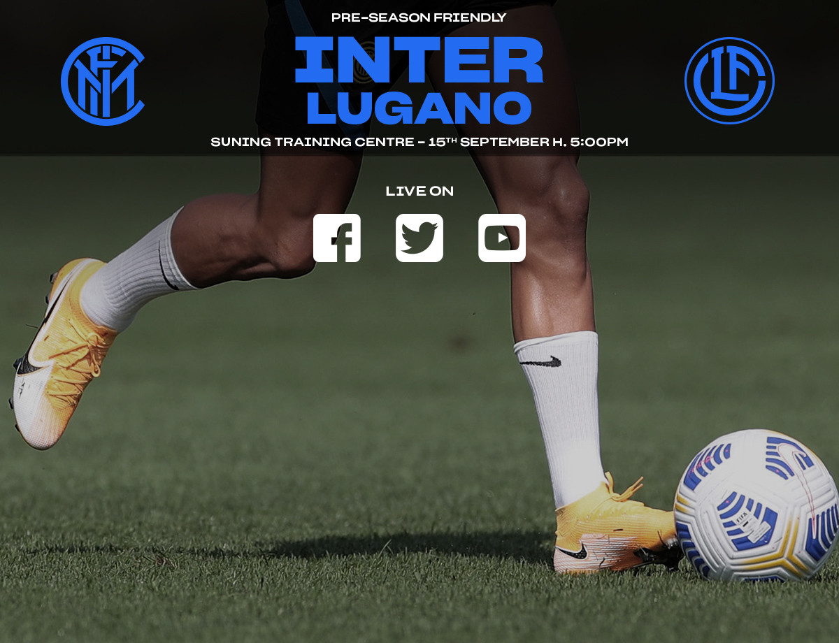 Siaran Langsung Inter vs. Lugano di Inter.it dan Kanal-kanal Media Sosial Kami