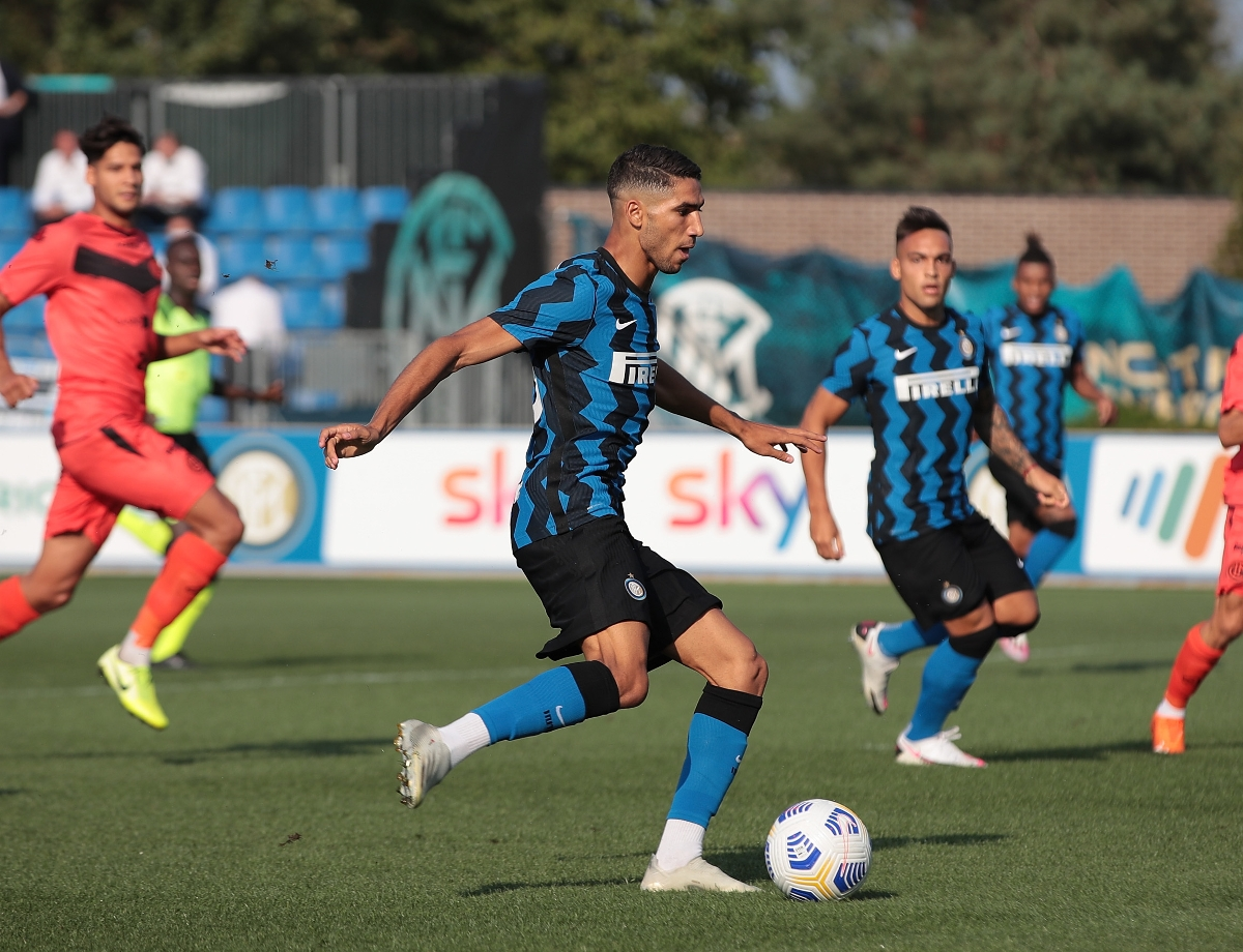 Highlights from Inter 5-0 Lugano | Hakimi and Kolarov make their debuts as the Nerazzurri run riot