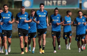 The Nerazzurri get back to action: the best photos from today's training session