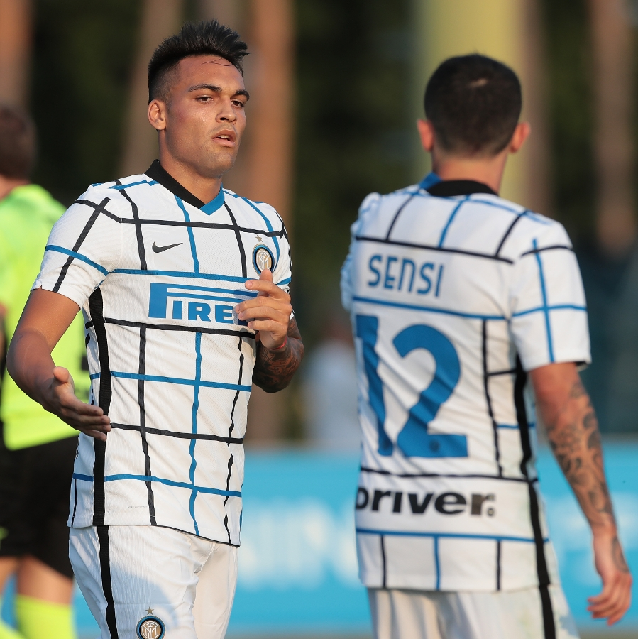 Inter at work, training game against Carrarese | PHOTOS