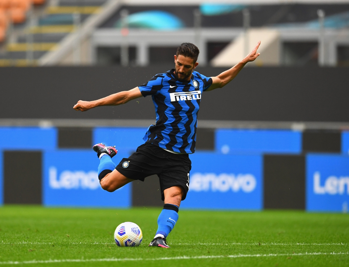 """Gagliardini: """"It's great to play in front of fans again"""""""