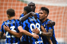 Inter 7-0 Pisa, the photos