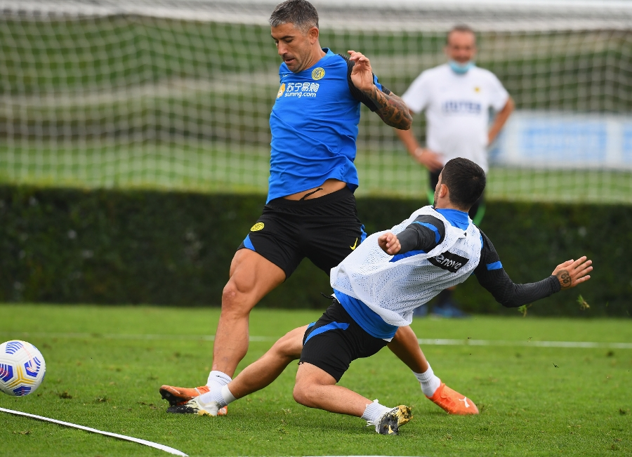 The team get to work ahead of Inter vs. Fiorentina | PHOTOS