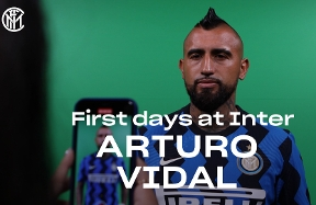 Arturo Vidal's first days as an Inter player | VIDEO