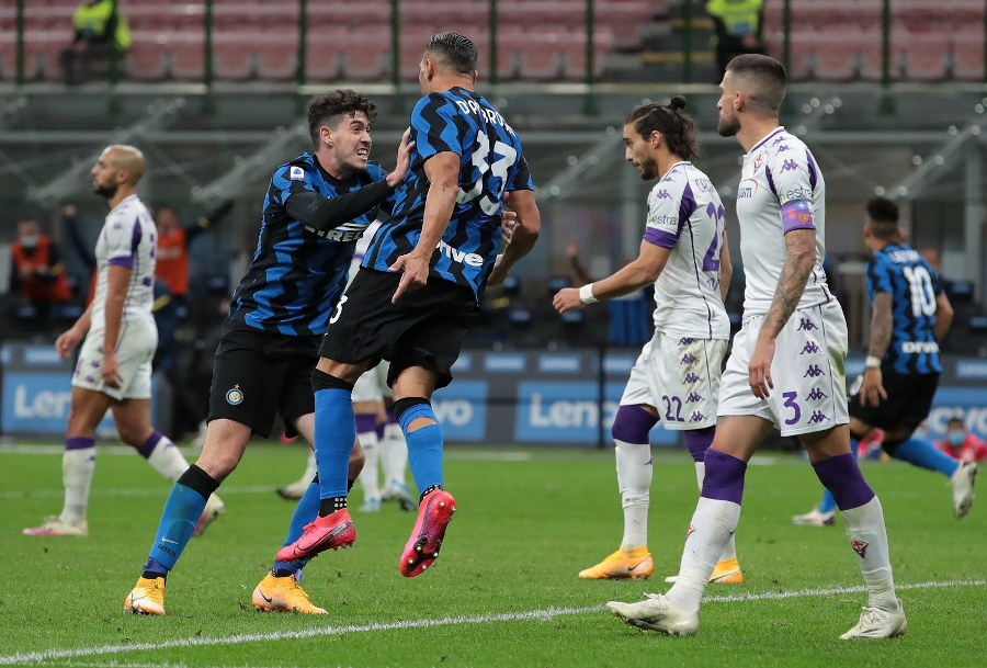 Inter beat Fiorentina 4-3 after a thrilling late comeback