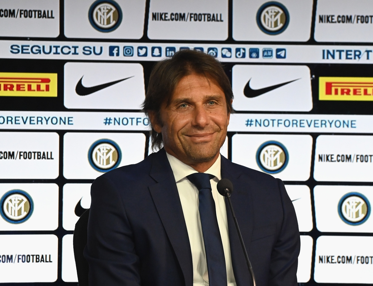 "Conte: ""We'll give our all for the Nerazzurri colours"""