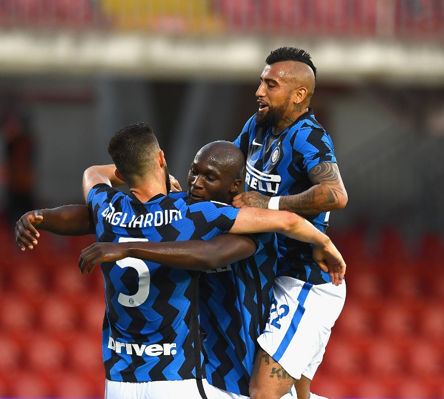 Benevento 2-5 Inter: Lukaku, Gagliardini, Hakimi and Lautaro goals