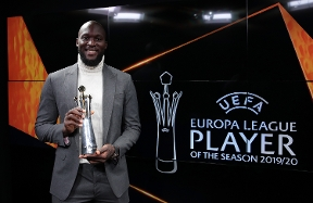 Romelu Lukaku is the Europa League player of the season 19/20