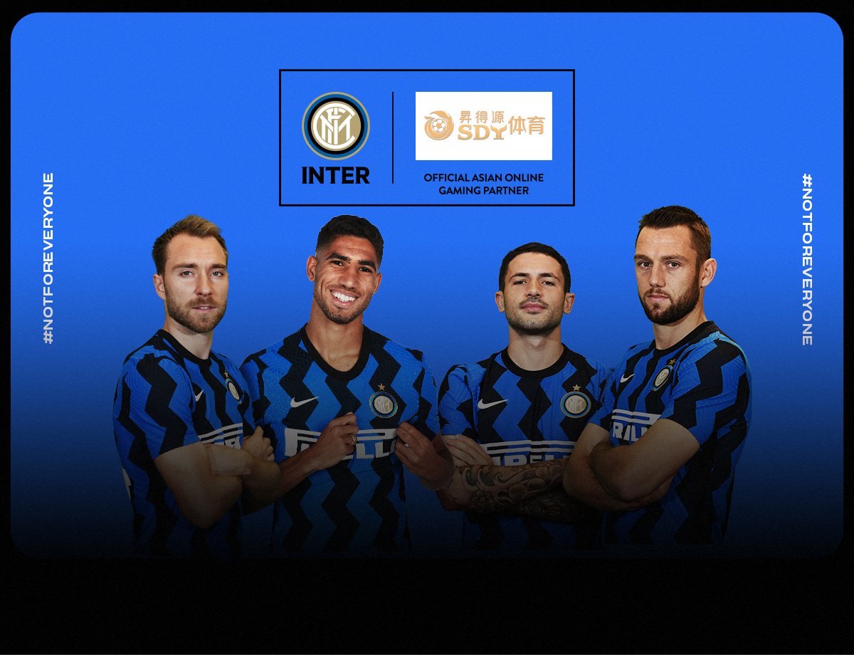 SDY Sports becomes FC Internazionale Milano's Official Asian Online Gaming Partner