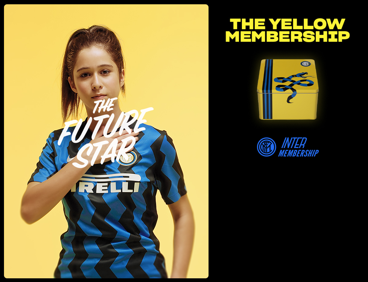 Inter Membership returns: the launch of our Yellow Pack