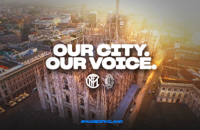 Our city, our voice:  i tifosi interisti protagonisti del derby sulle note di Impazzisco per te