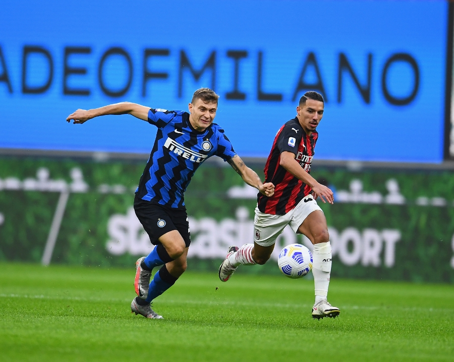 Inter-Milan 1-2, decide una doppietta di Ibrahimovic
