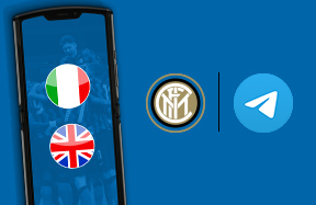 Doubling up on Telegram: the official Nerazzurri channel is also available in English!