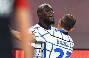 InterNationals: Lukaku scores twice as Belgium join Italy in the Final Four
